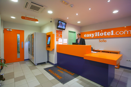 Reception - easyHotel Sofia